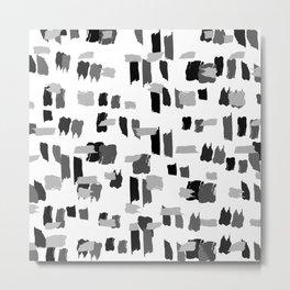 Brushrush Metal Print