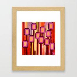 Fuchsia Grove Framed Art Print