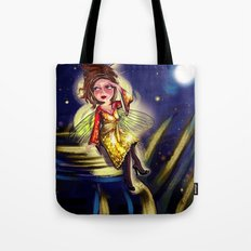 Bug Girls: Firefly lookin' for love Tote Bag