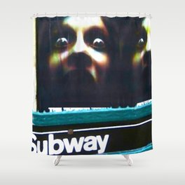 DON'T SLEEP IN THE SUBWAY! Shower Curtain