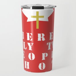 Soldiers & Jesus Travel Mug