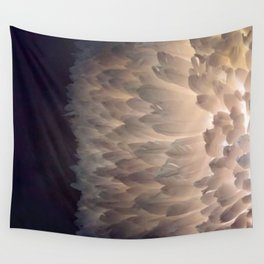 Soft light through the feathers Wall Tapestry