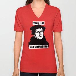 Viva La Reformation Unisex V-Neck
