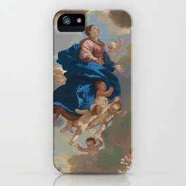 Poussin -the assumption of the virgin iPhone Case