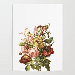 Floral litho Poster