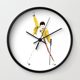 Queen at Wembley Stadium in 1986. Wall Clock