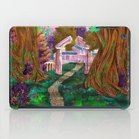 warcraft iPad Cases featuring Welcome in Darnassus by Studinano by Shou'