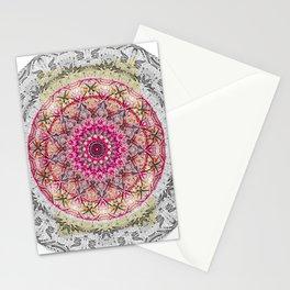 mandala pink colorfull Stationery Cards