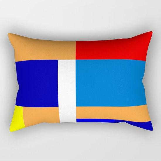 Mondrian #10 Rectangular Pillow