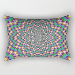 Eye Bender Rectangular Pillow