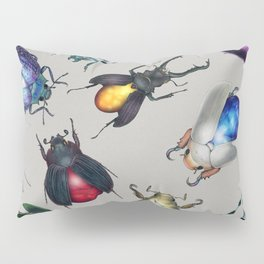 Colorful Mineral Beetles Pillow Sham