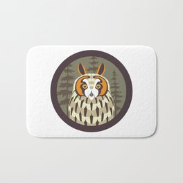 Long-eared Owl Bath Mat
