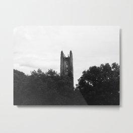 Monochrome Galen Stone Metal Print