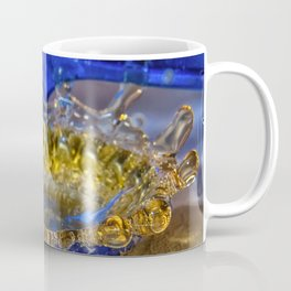 Beer? Beer splashing into a beer cap Coffee Mug