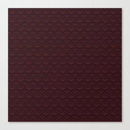 Stamped Art Canvas Print