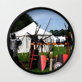 Medival Camp Wall Clock