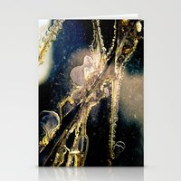cracked Stationery Cards featuring Cracked by GrandmaStyleCo