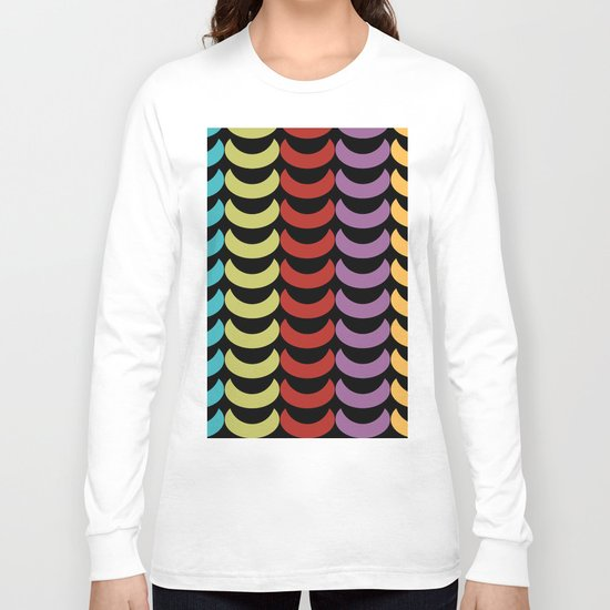 Seamless Geometric Pattern VI Long Sleeve T-shirt