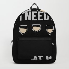 At My Age I Need Glasses Backpack