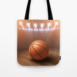 Basketball game Tote Bag