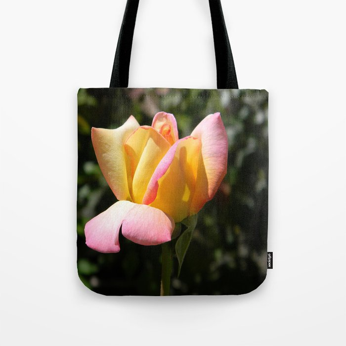 Peace rose Tote Bag