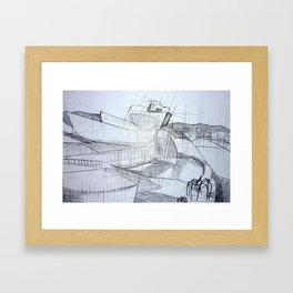 Bilbao Guggenheim Framed Art Print