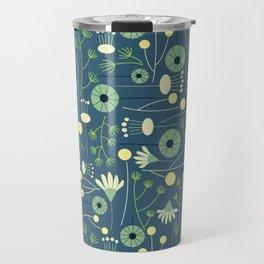 Freshly Cut - Blue Travel Mug