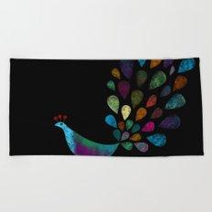 color 6 Beach Towel