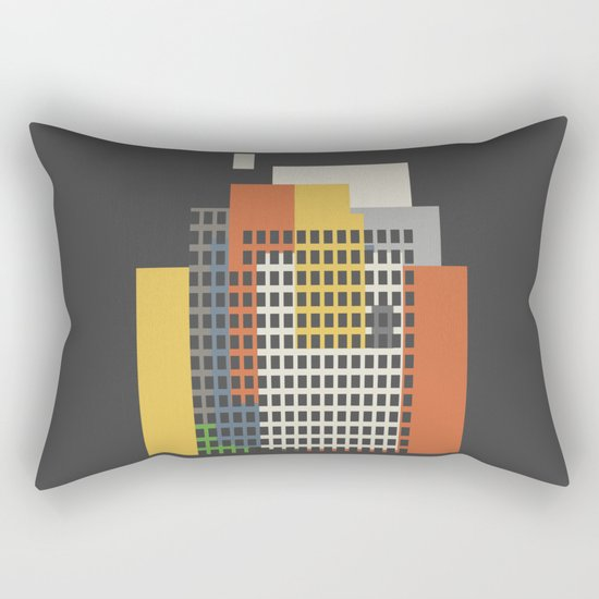 architecture and morality Rectangular Pillow
