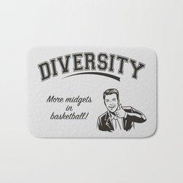 Diversity - Midgets in Basketball Bath Mat