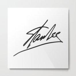 "RIP Stan ""The Man"" Lee Metal Print"