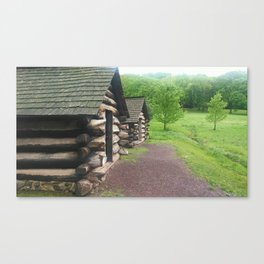 Cabins photography Canvas Print