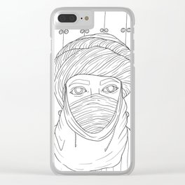 Tuareg Clear iPhone Case
