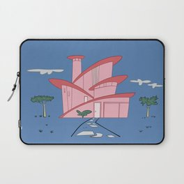 Pink Panther's Modern House Laptop Sleeve