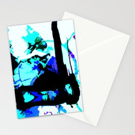 match stick in ice Stationery Cards