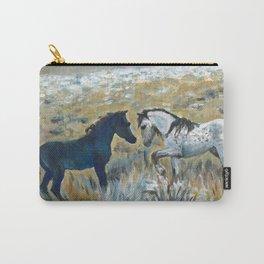 Nokota Horses. Carry-All Pouch