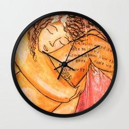 Body Love Wall Clock