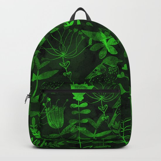 Abstract Botanical Garden IV Backpack