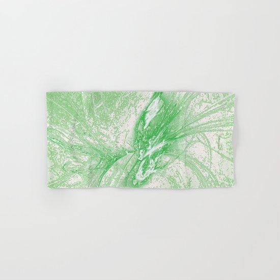 Splatter in Limeade  Hand & Bath Towel