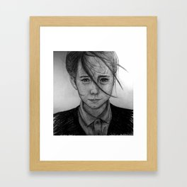 Homeless Framed Art Print