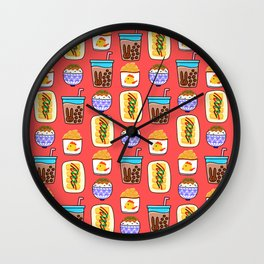 Lovely Comforts in Taiwan Wall Clock