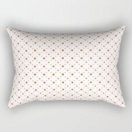 Criss Cross Dots Rectangular Pillow