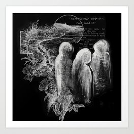 Beyond The Grave Art Print