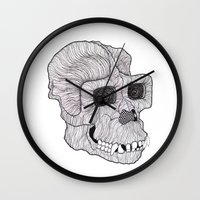 ape Wall Clocks featuring Ape by Camelo
