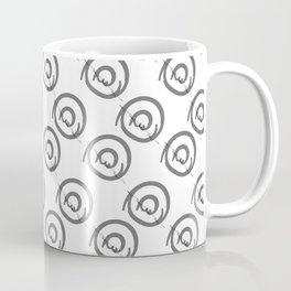 Black white noir blanc graphic Coffee Mug
