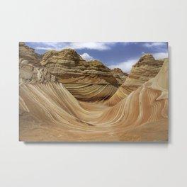 The Wave #3 - Arizona Metal Print