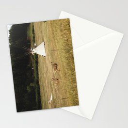 Salida Teepee Deer Stationery Cards