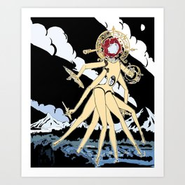 Eldritch Princesses: Belle Art Print