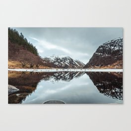 Reflected Mountain Canvas Print
