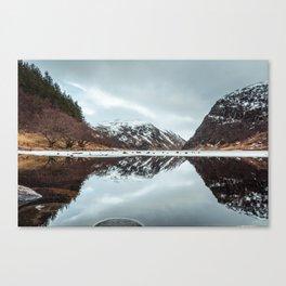 Reflected Mountain Canvas Print